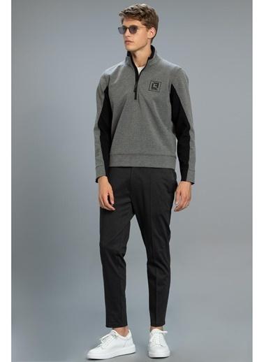 Lufian Erkek Orıo Sweatshirt 25151 Gri
